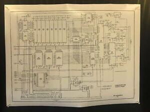 Commodore 64 Schematic Diagram Poster