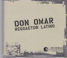 Don Omar-Reggaeton Latino cd maxi single