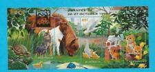Mnh 1996 Australia Pets Mini Souvenir Sheet - Swanpex Overprint - Wb-16