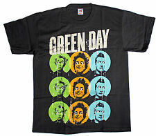 Official Green Day - Uno Dos Tre ~ On The Dot - Men's Black T-Shirt