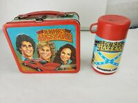 Vintage 1983 Dukes of Hazzard Metal Lunchbox & 1980 Thermos