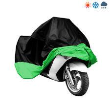 Grün XXL Motorradplane Abdeckplane Motorrad Abdeckung Hülle Roller Regenschutz