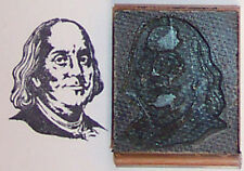 Ben Franklin rubber stamp by Amazing Arts