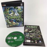 TMNT Teenage Mutant Ninja Turtles (PC, 2007) PC DVD-ROM Ubisoft Game