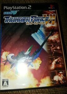 Thunder Force VI JP IMPORT JAPAN PS2 Playstation 2 New Sealed
