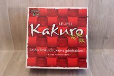 University Games - Jeu de société - Kakuro - deuxième génération de sudoku