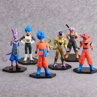 6X Anime Dragon Ball Z MSP Revival of F Vegeta PVC Action Figure Toy Doll Set