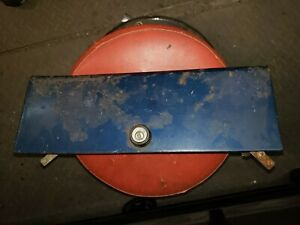 1953 to 1955 ford f100 custom cab glove box door with hinges, lock