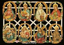 German Vintage Style Embossed Scrap Die Cut - Easter / Christmas Jesus   EF7334
