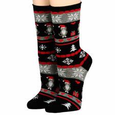 Damen-Socken aus Baumwollmischung für Weihnachten