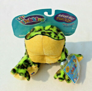 NEW & SEALED CODE LIL' WEBKINZ GREEN SPOTTED BULLFROG HS114