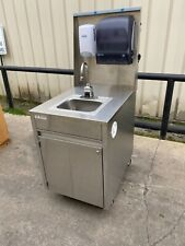 Qualserv touchless Portable hand sink hot water daycare farmers market catering
