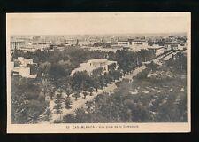 Morocco CASABLANCA Vue prise de la Cathedrale c1920/30s? PPC
