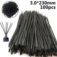 100pcs Natural Wooden Rattan Reed Fragrance Oil-Diffuser Aroma Replacement Stick