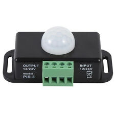 8A Automatic DC 12V-24V Infrared PIR Motion Detector Sensor Switch LED Light