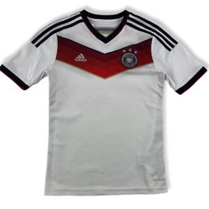 Deutschland DFB 2014 Kinder Trikot Gr. 164 / 176 adidas WM Home Weltmeister