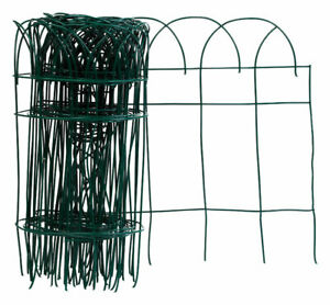 Panacea 89309 PVC Green Flower Border Fence Roll 20 L ft. x 14 H in. (Pack of 6)