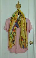 Soft Light D&Y Fashion Print Spring Summer Scarf Shawl Wrap
