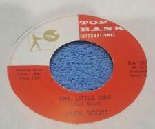 Jack Scott – Burning Bridges / Oh, Little One ~ (VG+)