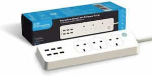 Smart Power Strip Works With Alexa Google Home Surge Protection