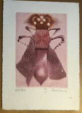 Insect  -  original etching, 69 of 100 copies. Signed and numbered