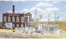 Walthers Cornerstone HO Scale Building/Structure Kit Light & Power Substation
