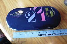 W.O. Larsen BOX ONLY pipe tobacco since 1864 Denmark - 2015 edition purple tin