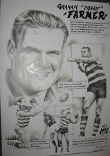 Polly Farmer Geelong Cats Limited Edition print signed by Artist