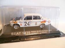 SEAT 1430 N° 24 : RALLYE DE MONTE CARLO de 1977  ~  NEUF