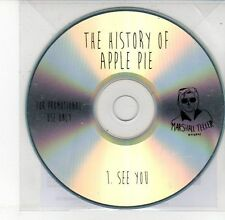 (DV644) The History of Apple Pie, See You - 2013 DJ CD
