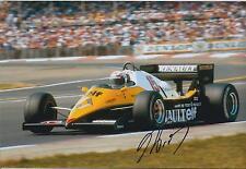 +Autogramm++Formel 1 Weltmeister++ Alan Prost
