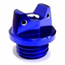 MotoSculpt Oil Fill Cap Plug for Kawasaki KX125 KX250 KX500 - BLUE