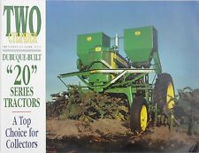 John Deere 320 & 420 Two Cylinder Tractor magazine 20 series