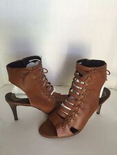 Vince Camuto Brown Gladiator Open Toe Stiletto Sandals Heels 10