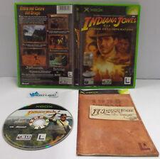 Console Game Microsoft XBOX PAL ITA - INDIANA JONES E LA TOMBA DELL'IMPERATORE -