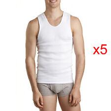Bonds Mens 2 Pack Chesty Athletic Singlet Singlets Top Vest White Cotton Sz