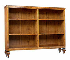 EARLY 20TH CENTURY OPEN BIRCH BOOKCASE BY DAVID BLOMBERG