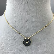 Design Pendant Sea Of Life Necklace Classic Arty Style Gold Black Starfish