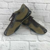Nike Air Men's Golf tennis shoes sneakers 10.5M Lace Up Brown