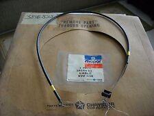 MOPAR NOS 1977-78 VOLARE ASPEN DIPLOMAT LEBARON TEMP CONTROL CABLE 3846833