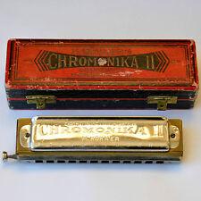 Harmonika M. Hohner Chromanika II Chromatische Mundharmonika Blasinstrument
