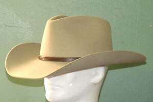 STETSON 4X FELT SENECA COWBOY WESTERN HAT