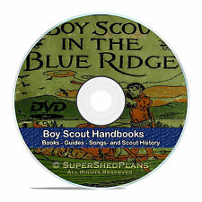 Classic Boy Scout Handbooks, Novels, Books, Magazines, Songs, 360+ DVD V43