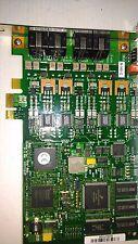 Dialogic INTEL D4PCIUFEWEU Voice/Fax Board 4 Port 4 analog loop-s PCIe