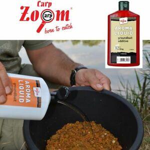 500ml CARP ZOOM AROMA LIQUID flüssiger Futterzusatz Aditive (1,90 EUR/100 ml)