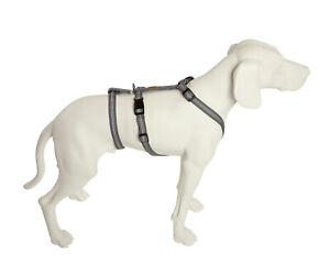 Feltmann, NoExit® Hundegeschirr, Panikgeschirr, 7 Größen, Super Soft, silber