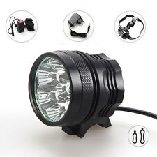 10000lm 7x XM-L U2 LED Bicycle Bike Lamp Headlamp  light + 12000mAh Battery