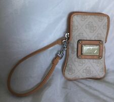 GUESS Faux Leather Wristlet/Clutch Bag / Handbag