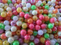 380 perles heishi 6mm couleur rouge carmin Neuf
