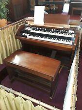 1956 Hammond C3 Organ And Freestanding Speaker Fully Functional serial 59227